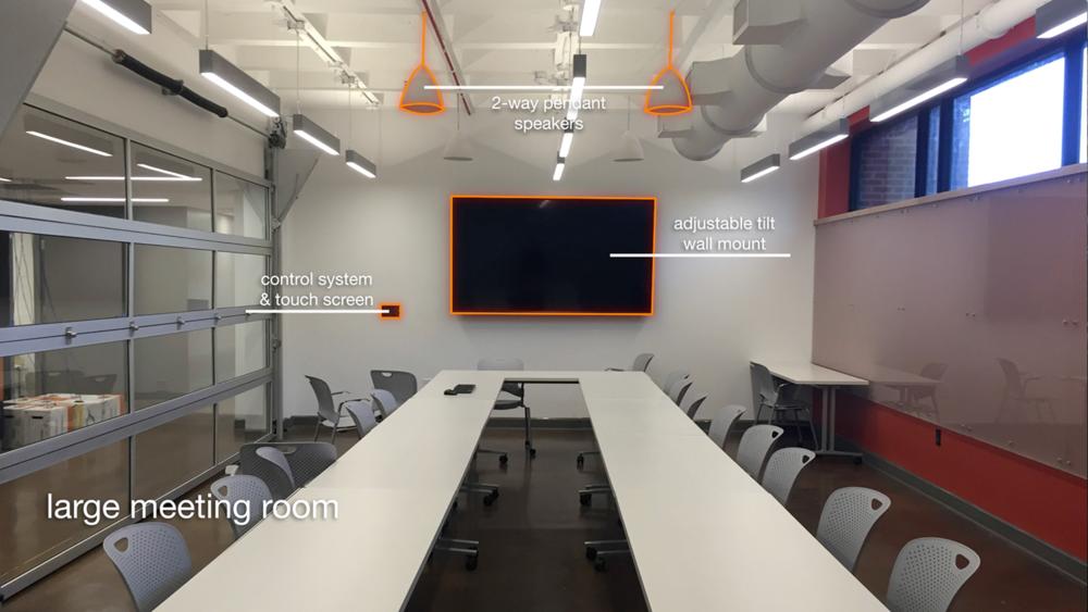 Large Meeting Room (Total Advising Center AV System Design & Installation)
