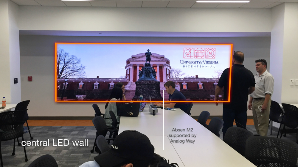 Absen LED Wall (Total Advising Center AV System Design & Installation)