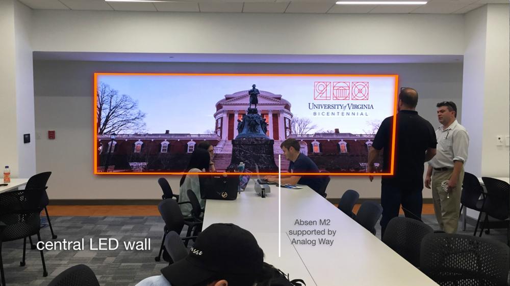 Absen LED Wall (Total Advising Center AV System Design & Installation)