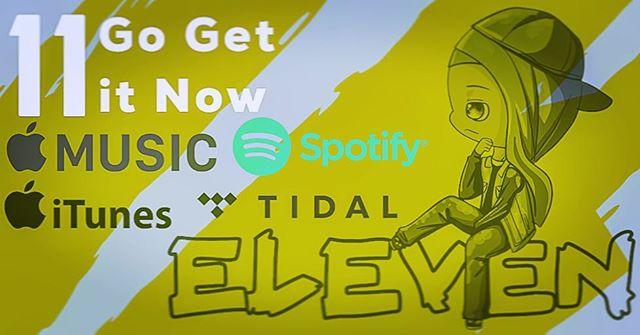 Go get the #album #eleven now on #spotify #applemusic #itunes & #tidal link in bio  #teambr8ker #Viginia #DMVArtist #703 #musicislife