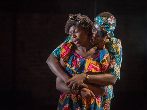 Joan Iyiola as Suzanne and Anna-Maria Nabirye as Anne-Marie