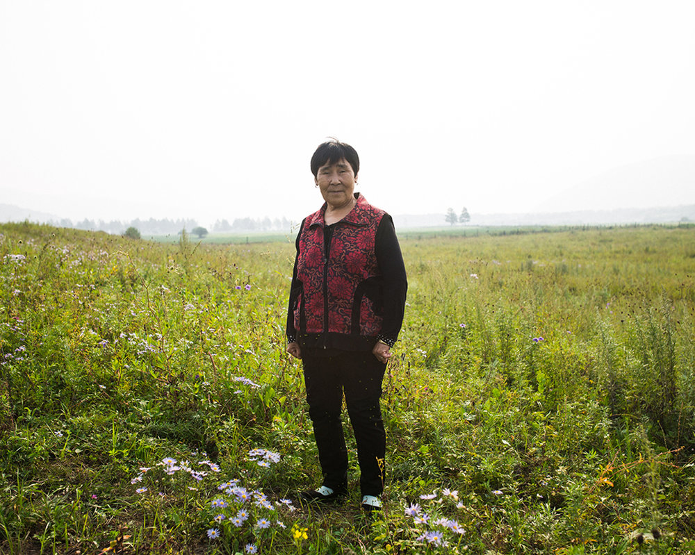 """Sometimes I speak Oroqen with my son and my daughter. They understand, but can't speak it. They forgot the language, they go to school for knowledge.""  Daqian, Tuohe, Inner Mongolia"