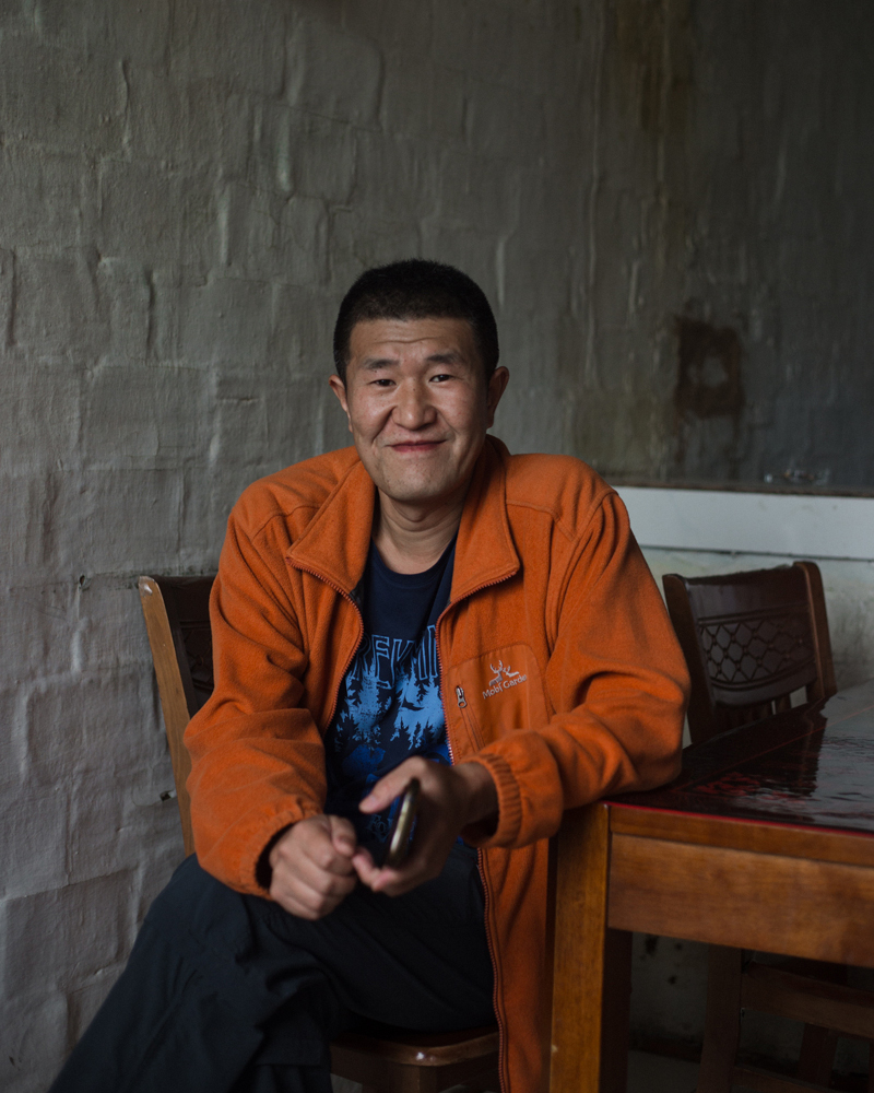 Guan Peng, Baiyinnar, July 2017  The Oroqen are one of oldest ethnic minorities in Northeast China and have cultural and linguistic links to numerous ethnic minority groups spread across Heilongjiang, Inner Mongolia and out to Siberia across the Russian border. As an anthropologist Guang Peng works to document the language and culture of his community in a rapidly changing world.