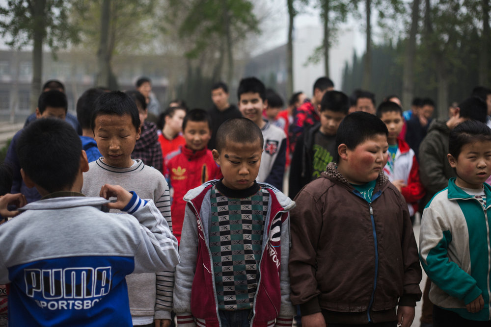 Mu Mengjie School for the Visually Impaired, Hebei Province 2017  The school was set up in 1999 to provide free education and accommodation for visually impaired children from all over rural China. Without it many of the children who attend would have no to little chance of accessing schooling.