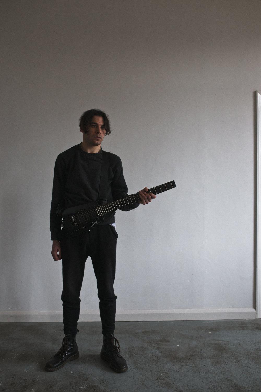 Karl D'Silva, musician, Leeds 2015