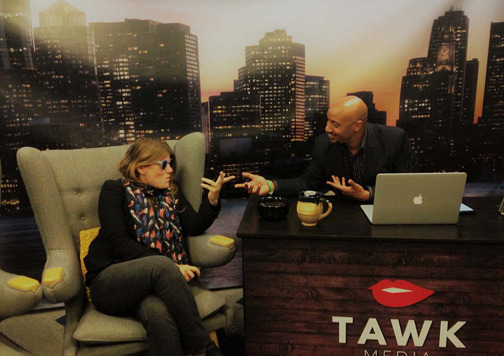 live at Boston HUBweek 2016 for Tawk Media