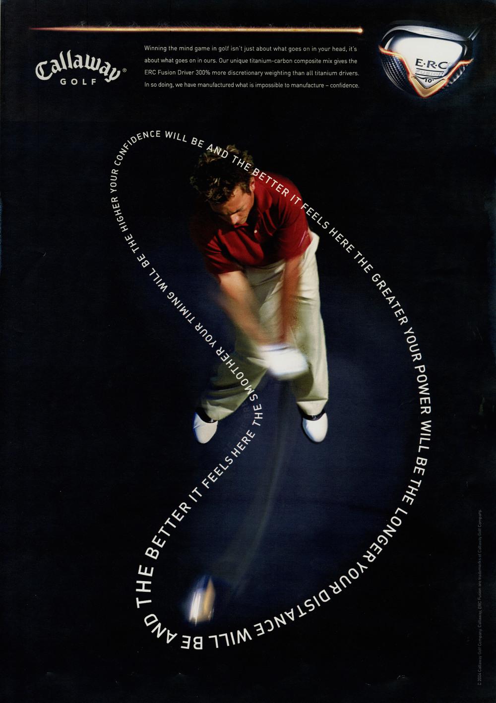 Callaway Golf Fusion print