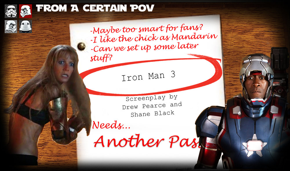 Ben and Addy from the flagship Certain Point of View News Show join Case to discuss the last in Marvel's initial flagship series, Iron Man 3.