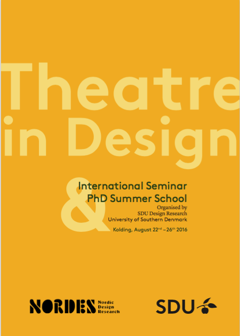 Theatre in Design Seminar - Download program here
