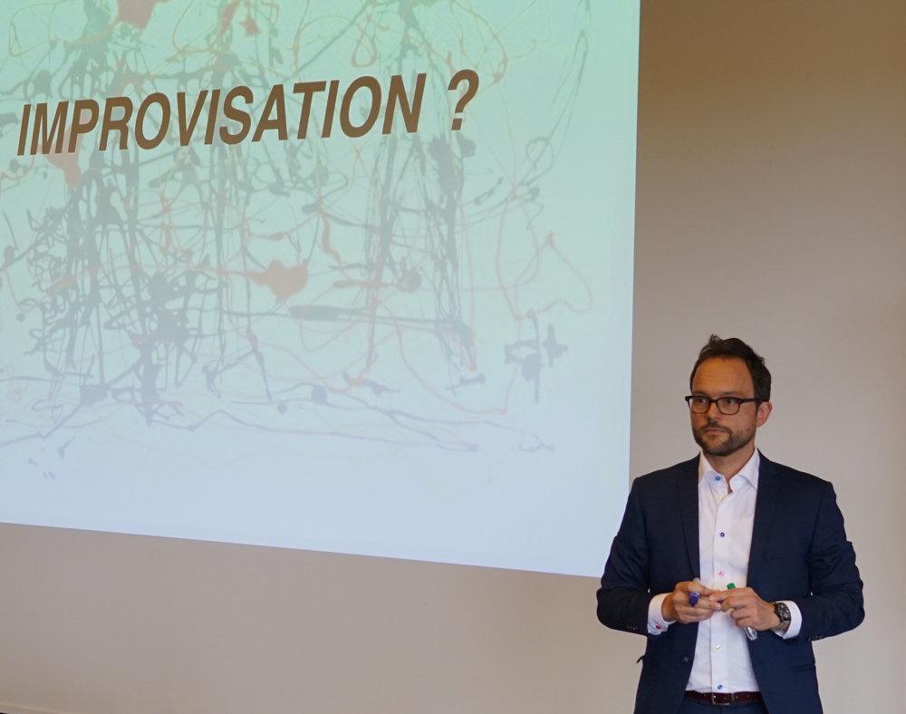 Foredrag om Improvisation v/ dramaturg Peter Sloth Madsen