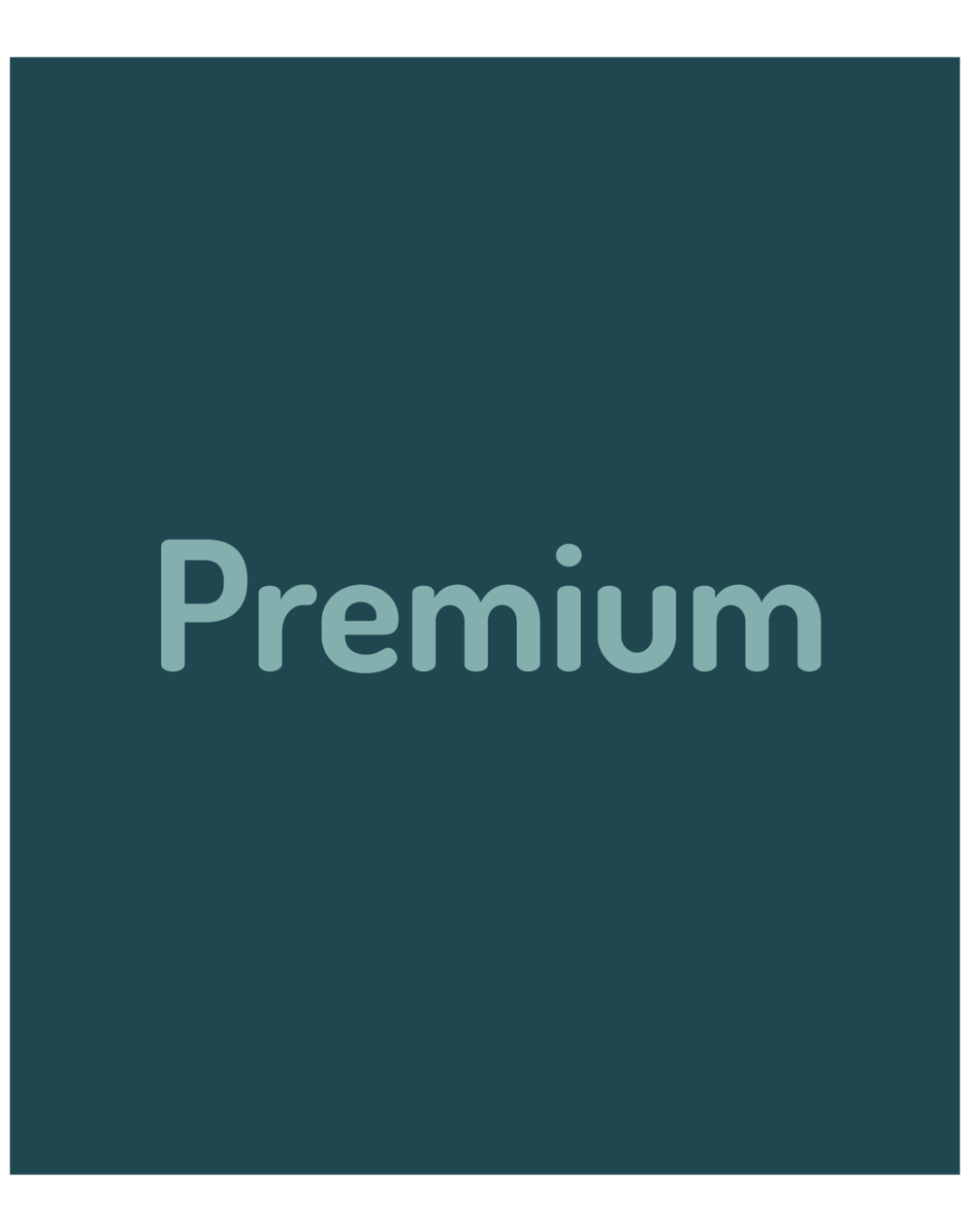 PREMIUM : Most health plans come with a premium you must pay every month, even if you don't use your insurance. If you do not pay your monthly premium, you could lose your health insurance.