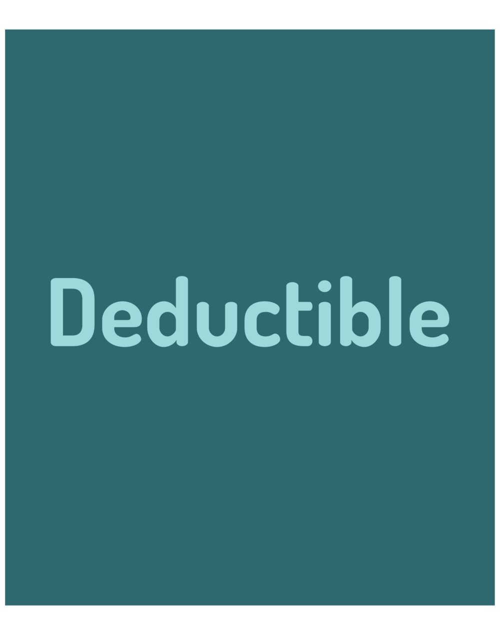 DEDUCTIBLE: Each year, before your health plan pays for any health services you get, you have to pay for those services until you reach a certain dollar amount. This amount is called your deductible.
