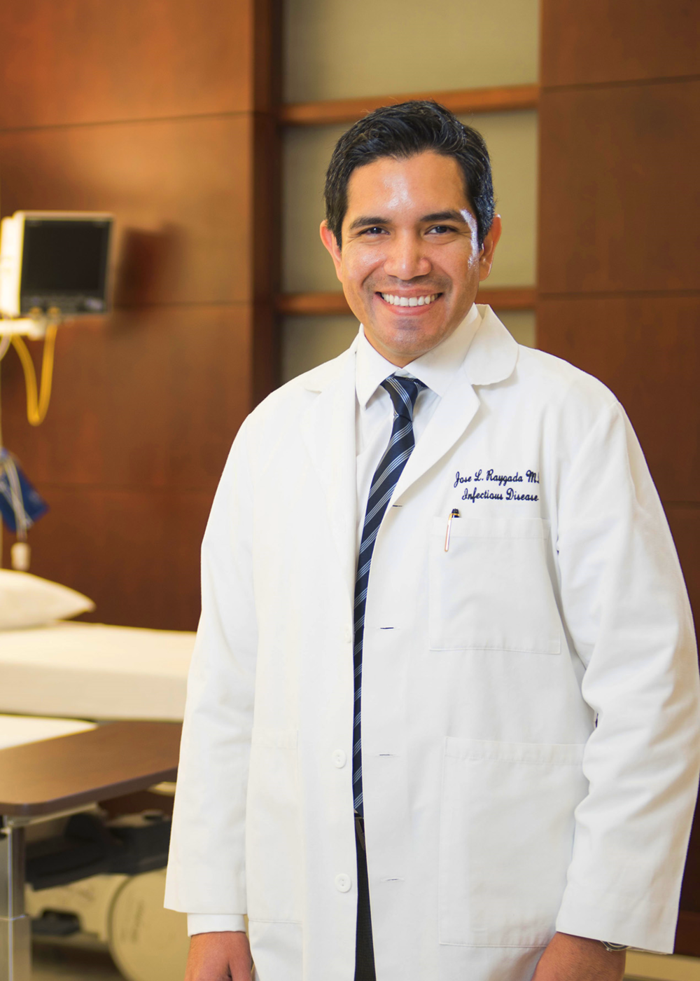 Medical Director, Vascular Medicine and Infectious Disease Jose L. Raygada, MD