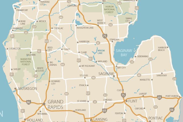 6 MIDMICHIGAN LOCATIONS TO SERVE OUR PATIENTS     Midland, Alma, Mount Pleasant, Gladwin, West Branch, Saginaw