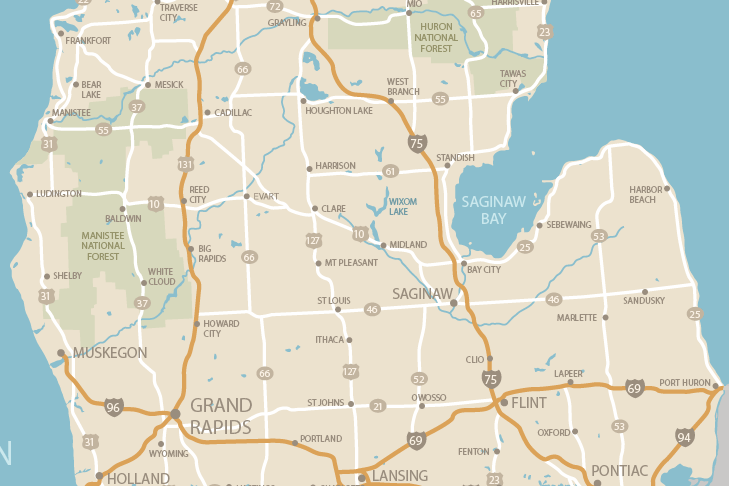 6    LOCATIONS     TO SERVE OUR PATIENTS     Midland,  Alma, Mount Pleasant,    Gladwin, West Branch, Saginaw