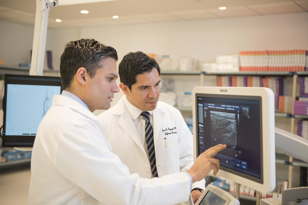 Omar Haqqani, MD and Jose Raygada, MD of Vascular Health Clinics