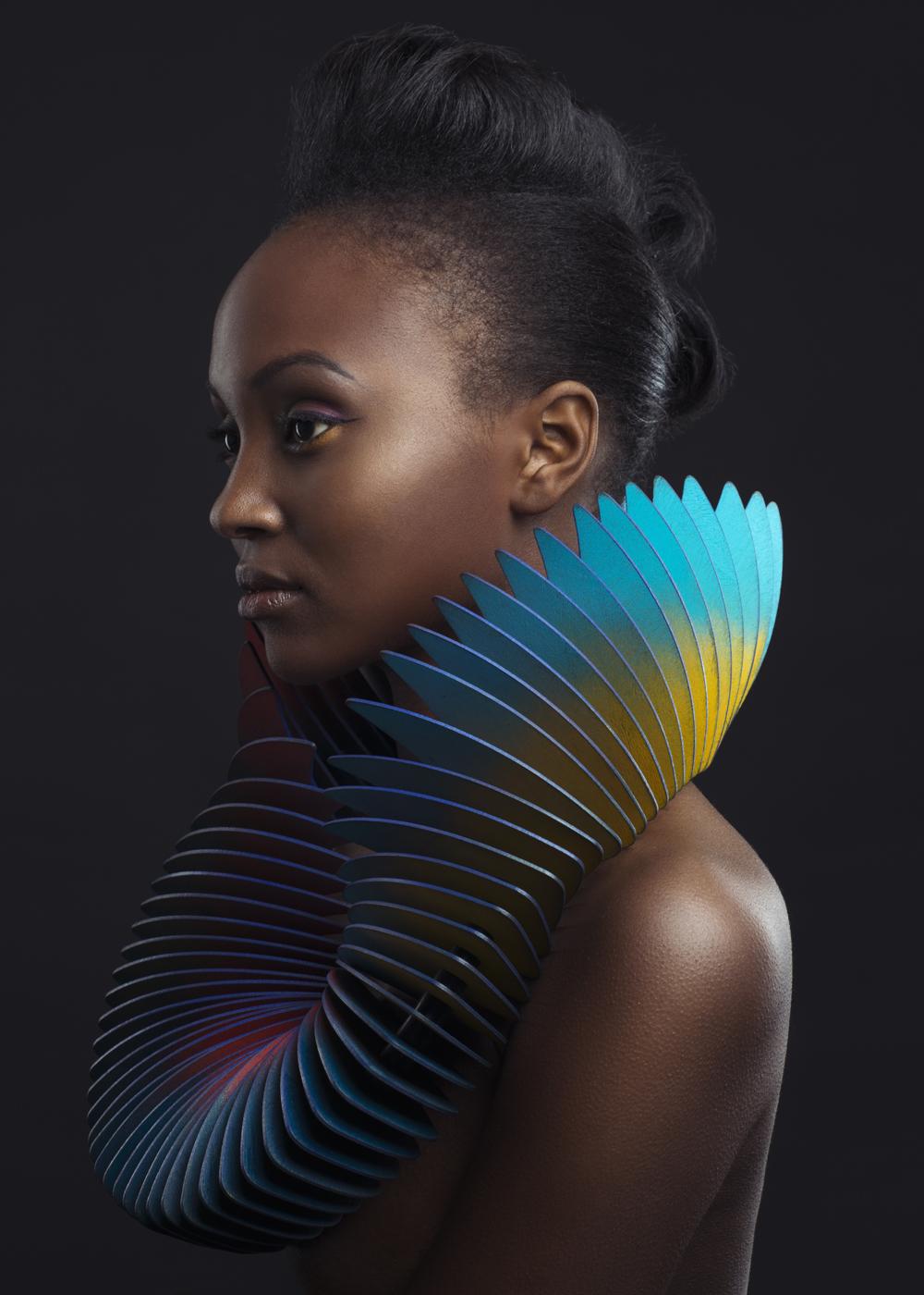 Photograph: Chris Bulezuik  Model: Reem  Hair:  Jesus Oliver  Makeup: Ximena Rodriguez