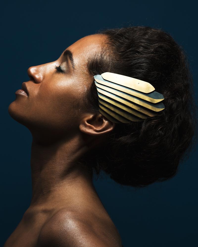 Photograph: Chris Bulezuik  Model: Serena Wells  Makeup: Simone Graham