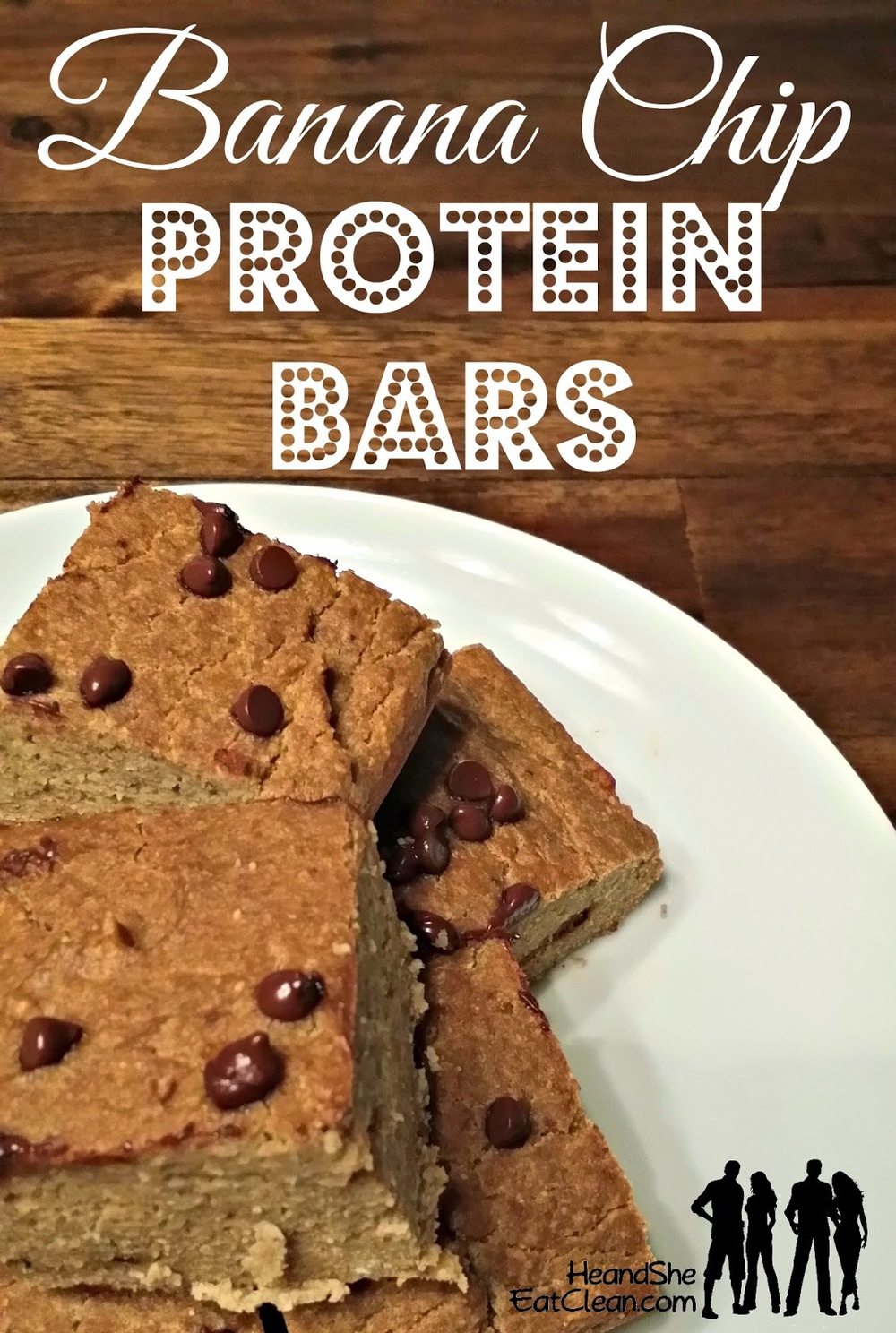 Clean Eat Recipe: Banana Chip Protein Bars | He and She Eat Clean