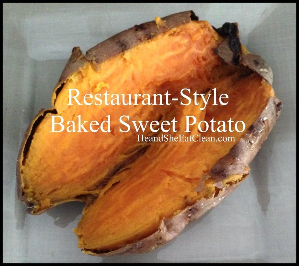 Sweet potato clean recipes