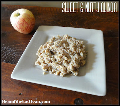 Sweet & Nutty Quinoa