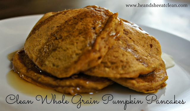 eat-clean-whole-grain-wheat-oatmeal-eating-pancake-recipe-he-and-she-eat-clean-pumpkin-thanksgiving.jpg