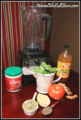 Clean Eat Recipe: Scott's Green Machine | He and She Eat Clean