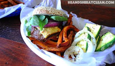 Clean Eat Recipe: Lean Mean Cheeseburger   He and She Eat Clean