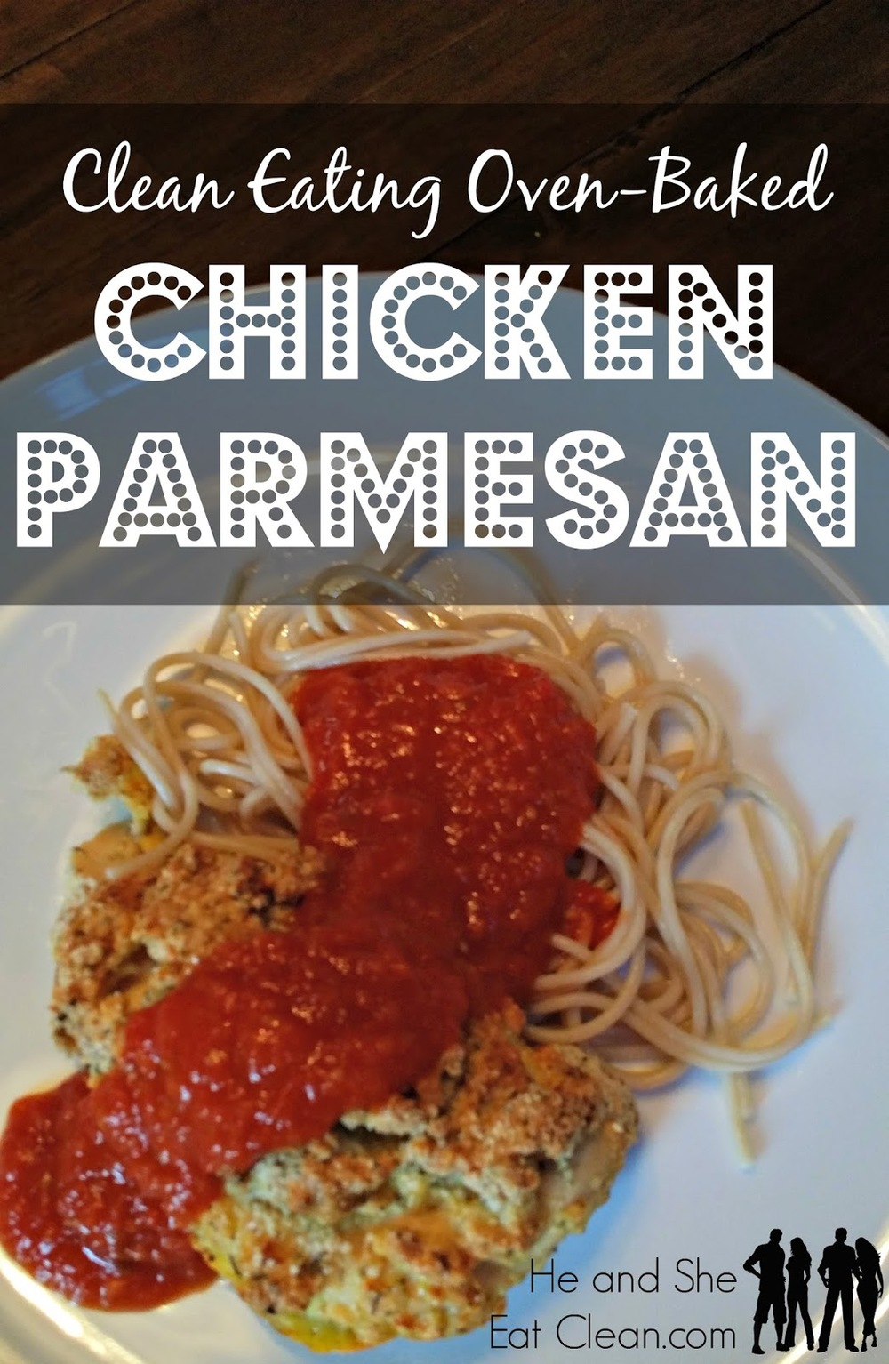 Gluten free chicken parmesan clean eating italian comfort food chicken parmesan no forumfinder Choice Image