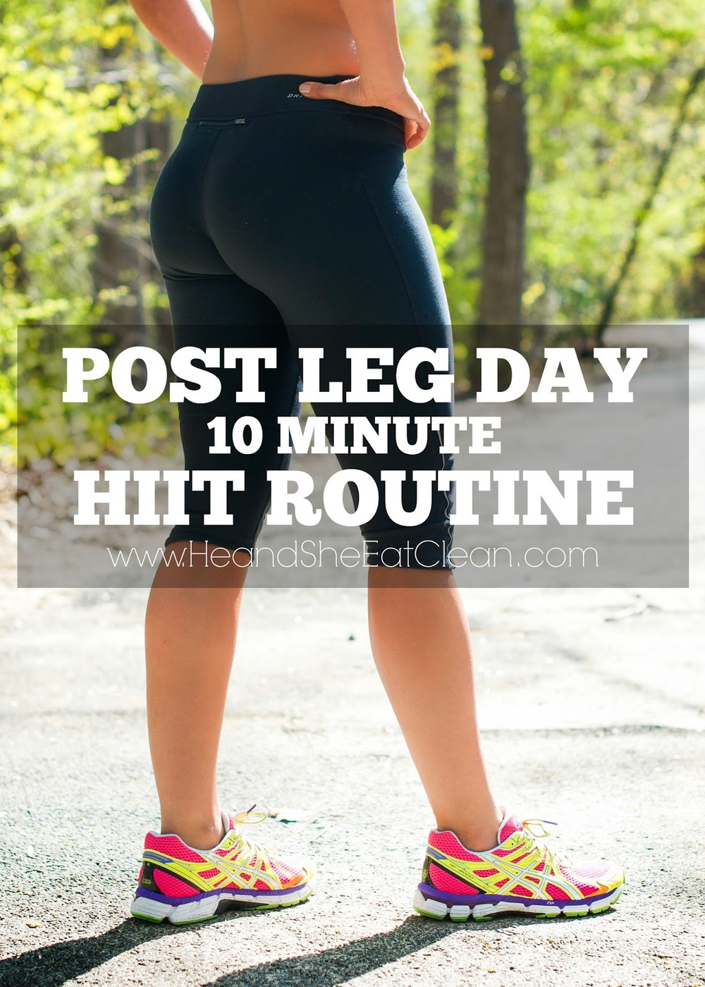 Leg Day 10 Minute HIIT Routine