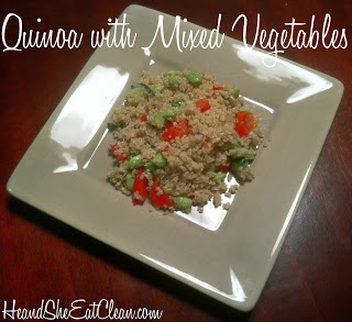 Quinoa with Mixed Vegetables
