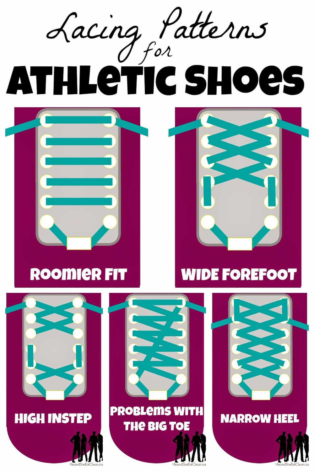 Top  Running Shoe Lacing Techniques