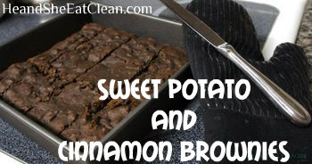 Clean Eat Recipe :: Sweet Potato and Cinnamon Brownies
