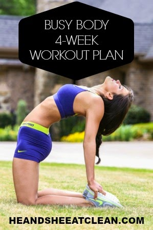 Get FIT in LESS Time! Introducing our Busy Body 4-Week Workout Plan!