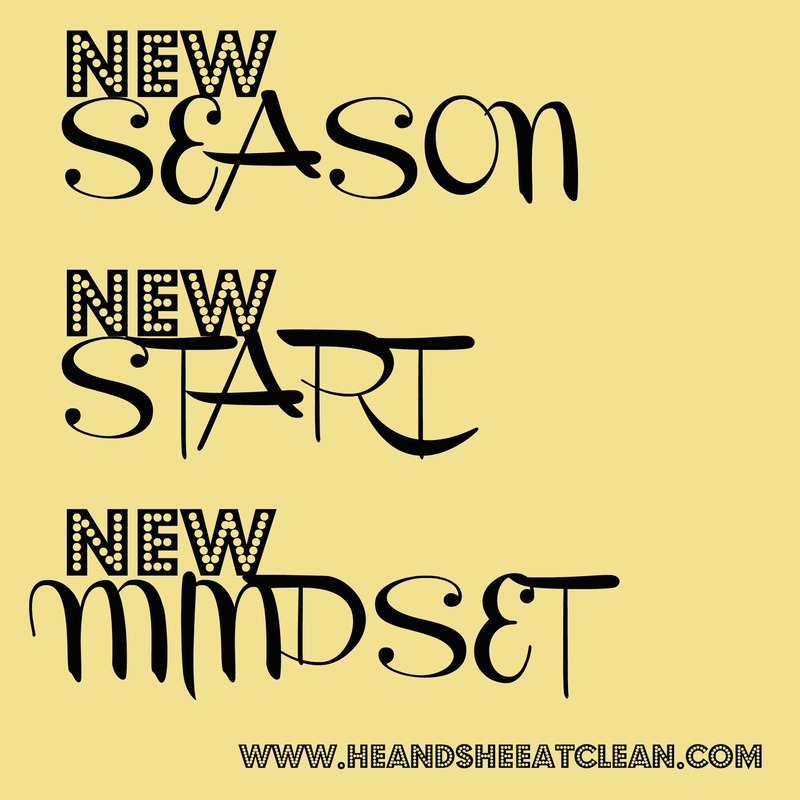 New Season – New Start – New Mindset