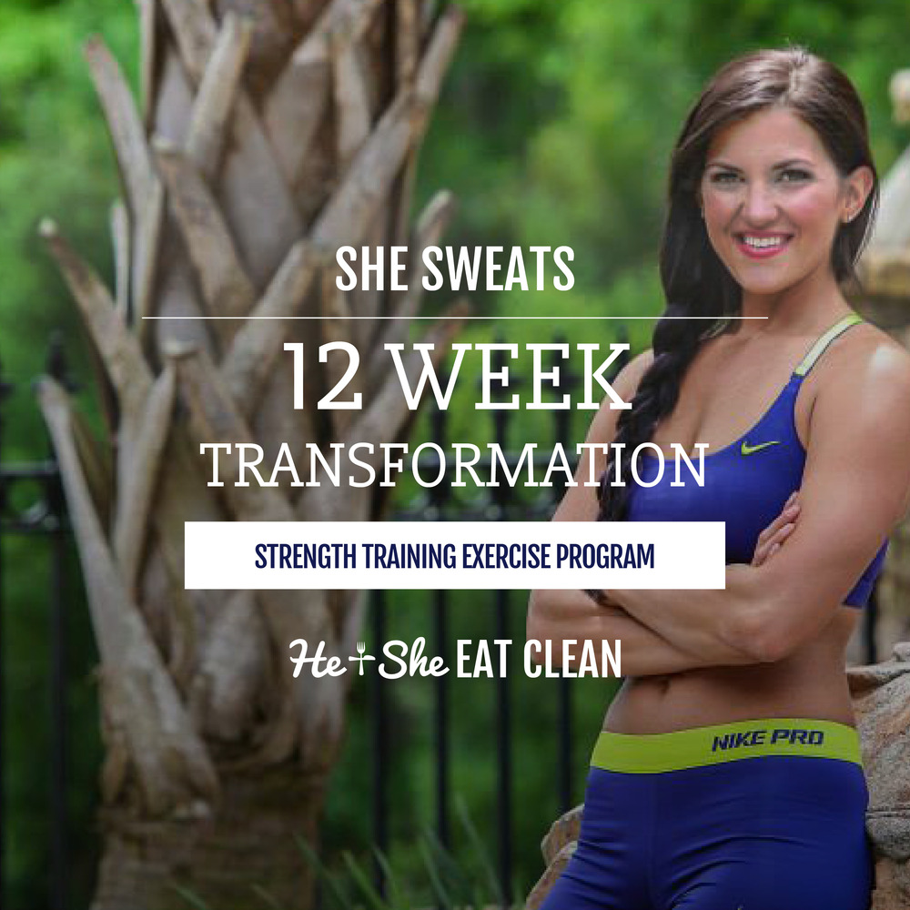 12 Week Transformation by He & She Eat Clean