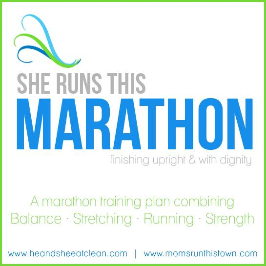 Marathon Training Program by He & She Eat Clean & Moms Run This Town
