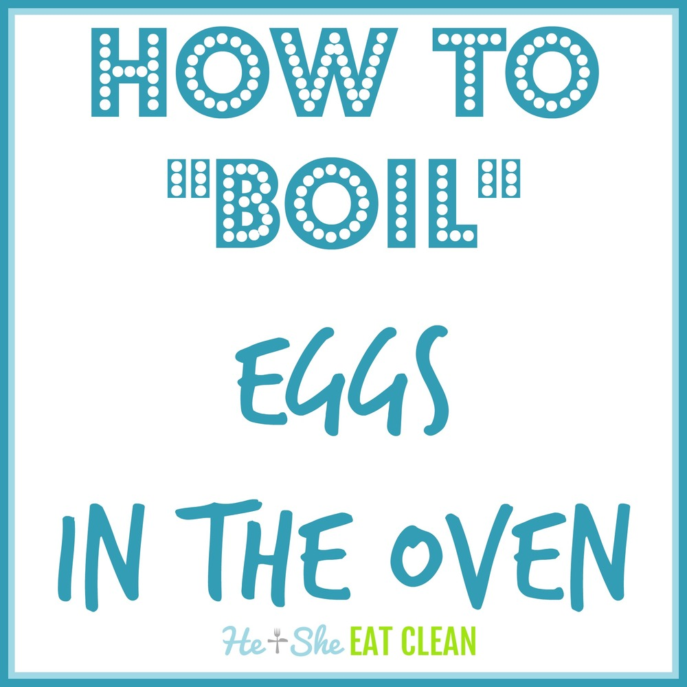 "How to ""Boil"" Eggs in the Oven 