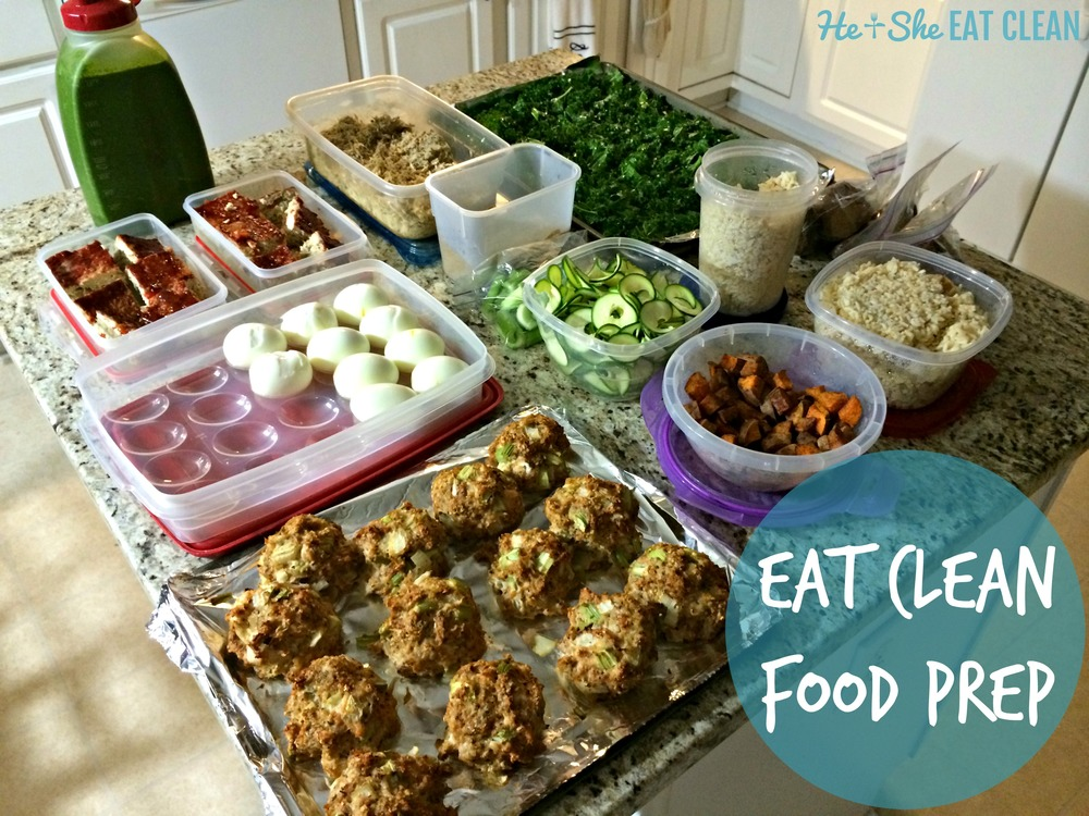 Eat Clean Food Prep | He and She Eat Clean