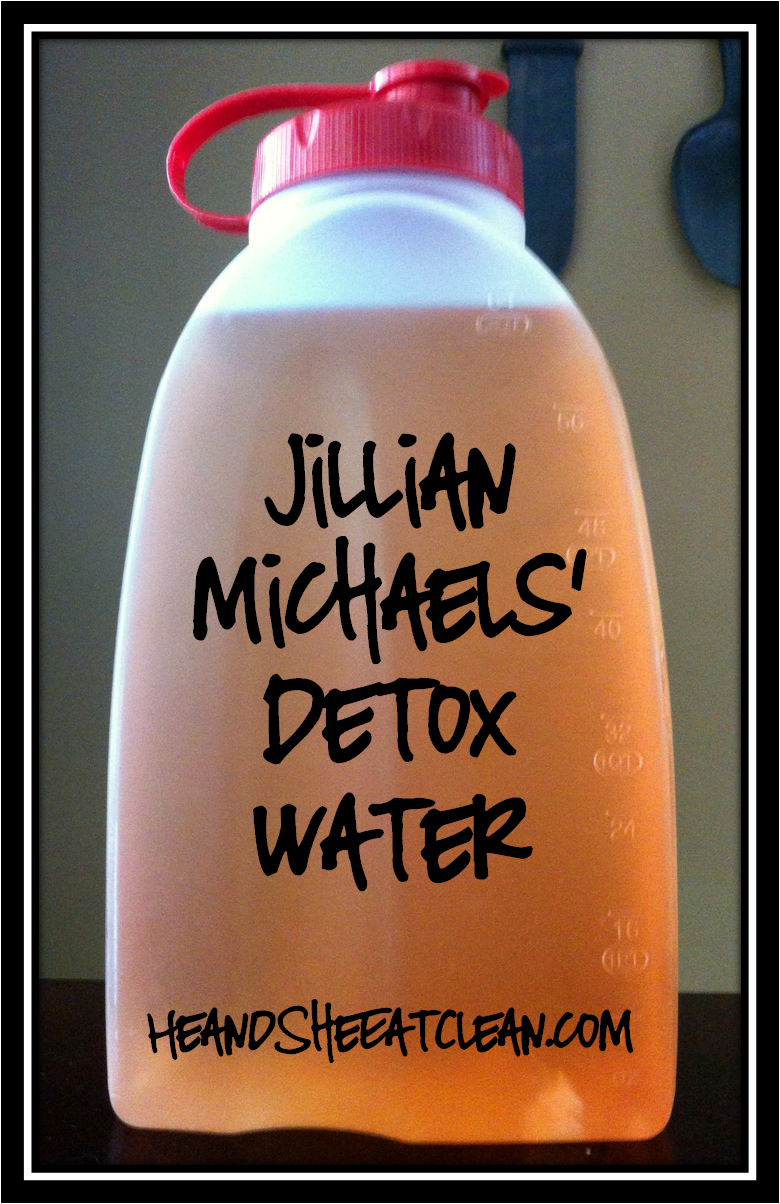Jillian Michaels Detox Water | He and She Eat Clean
