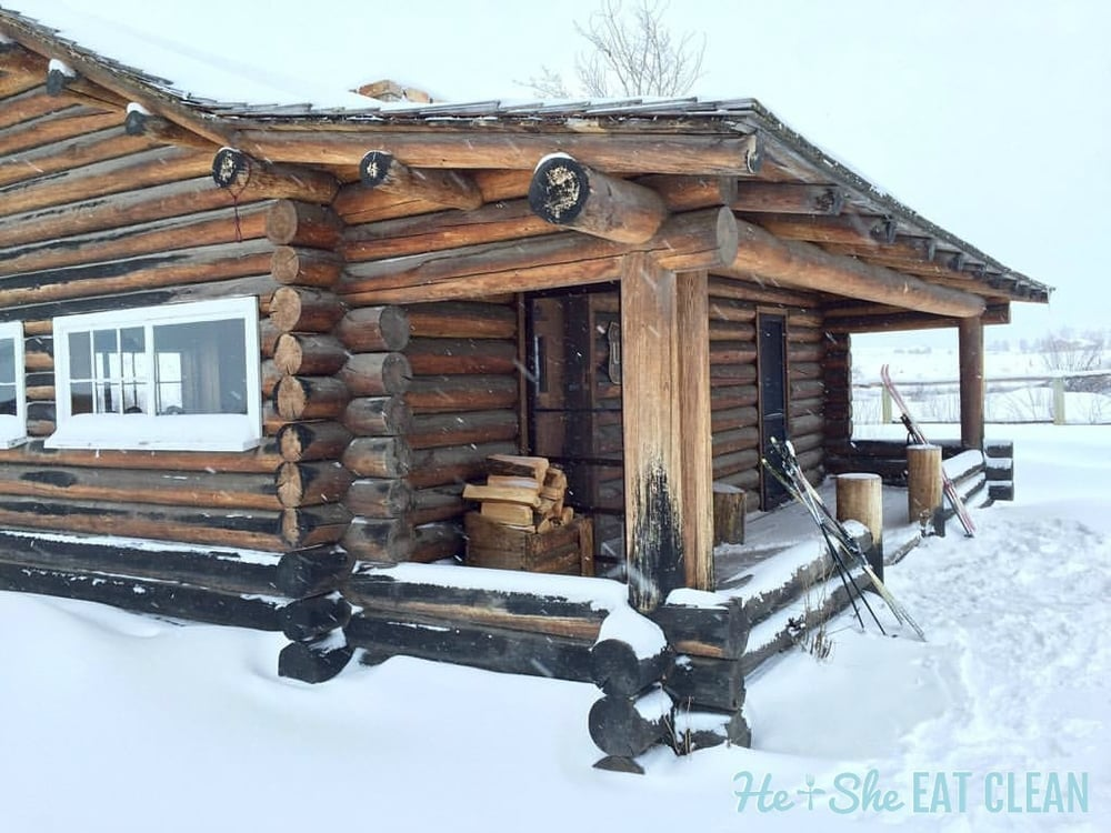 Back Country Cabin in West Yellowstone, Montana | He and She Eat Clean