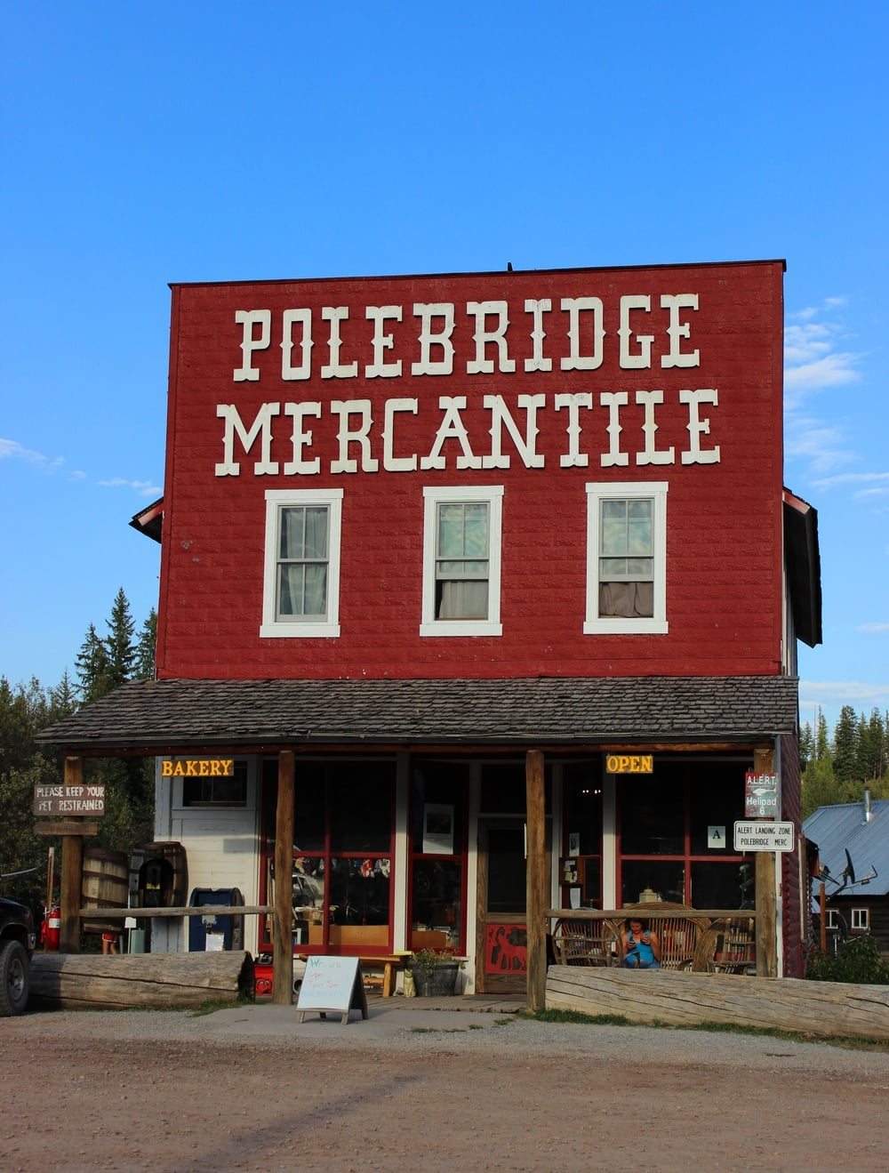Polebridge Mercantile | He and She Eat Clean