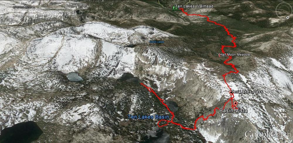 Ten Lakes - Yosemite National Park