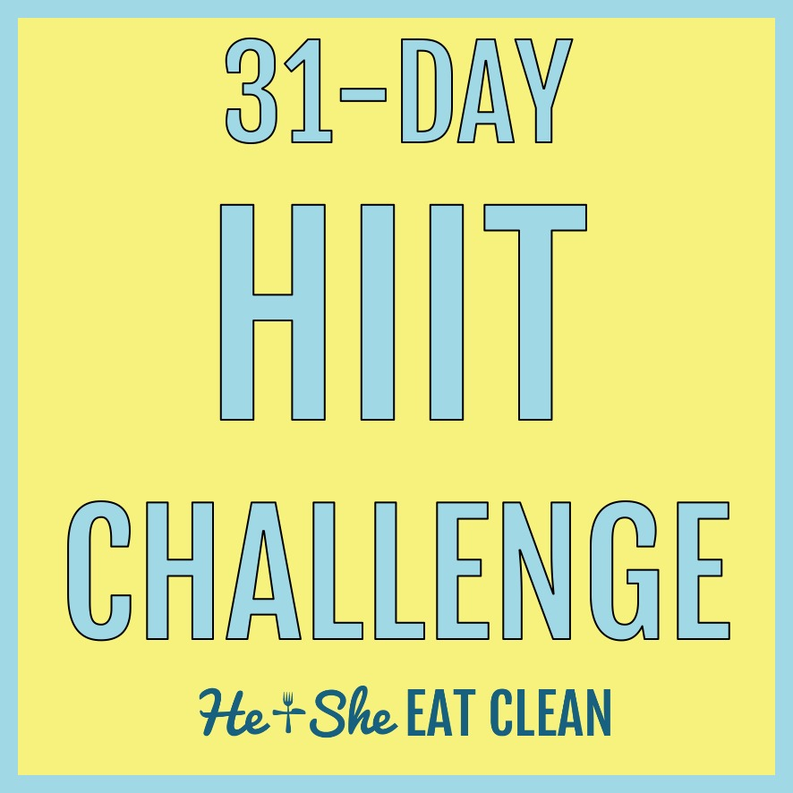 31-Day Full Body HIIT Fitness Challenge | Full Body Workout | He and She Eat Clean