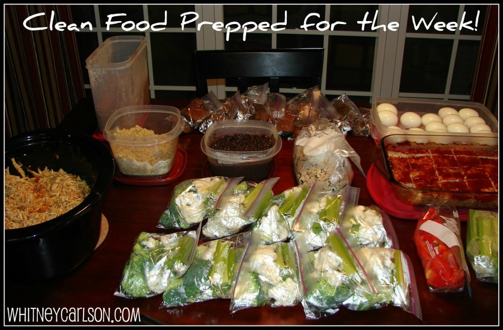Clean Eating Food Prep | He and She Eat Clean