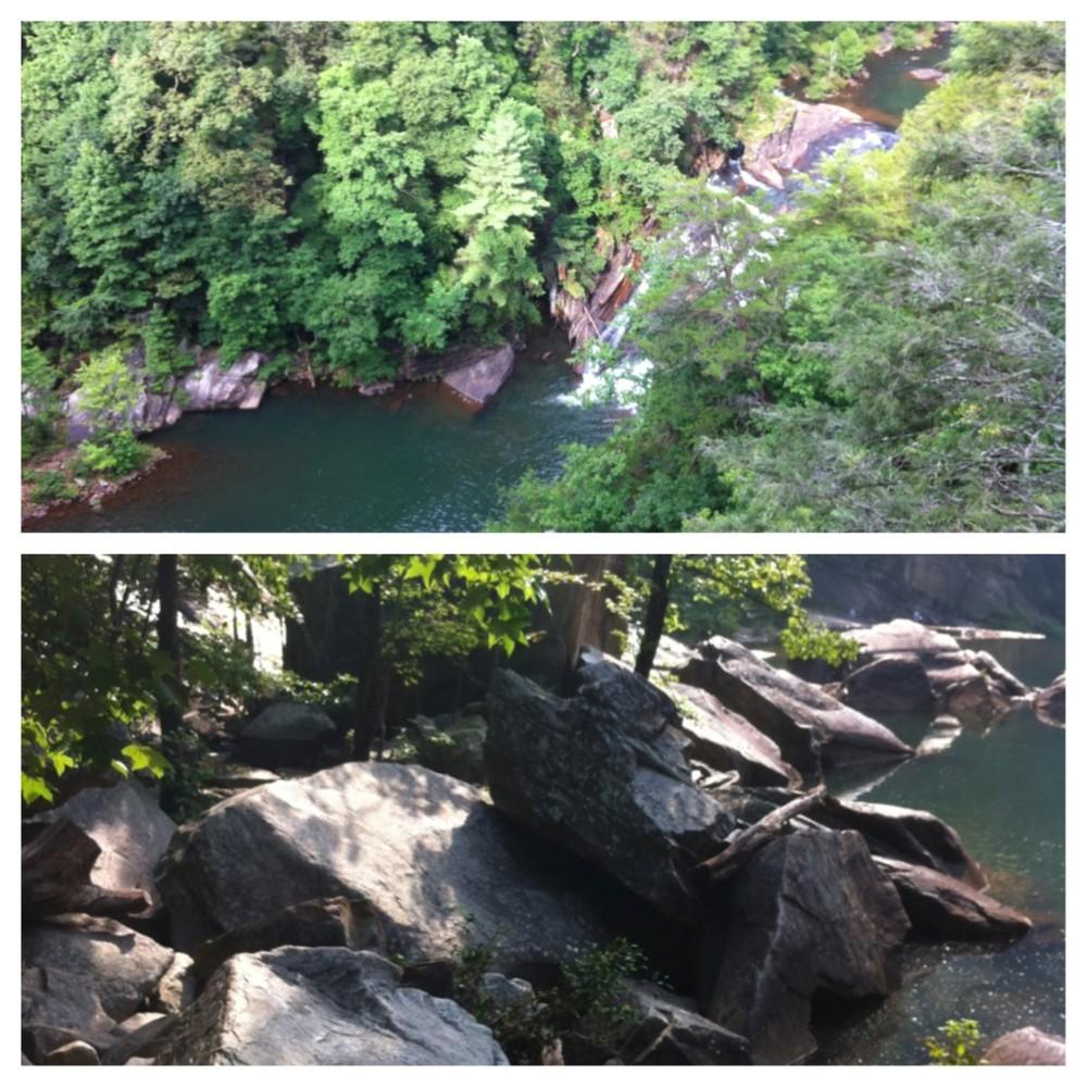 Tallulah Gorge Sliding Rock Trail (Tallulah Gorge State Park - GA)