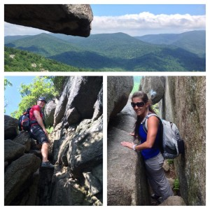 Hiking in Shenandoah National Park - Old Rag | He and She Eat Clean