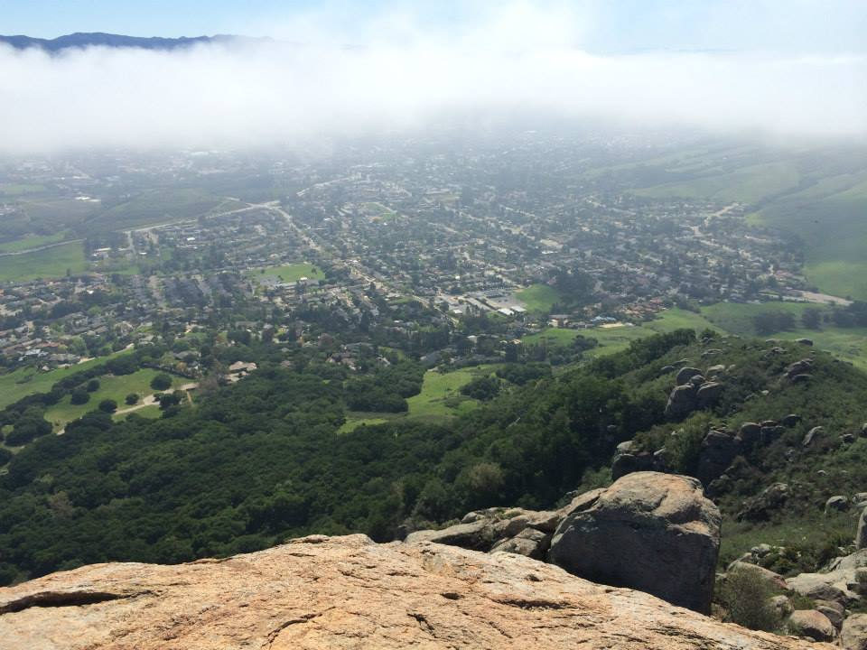 Hiking Bishop Peak | He and She Eat Clean