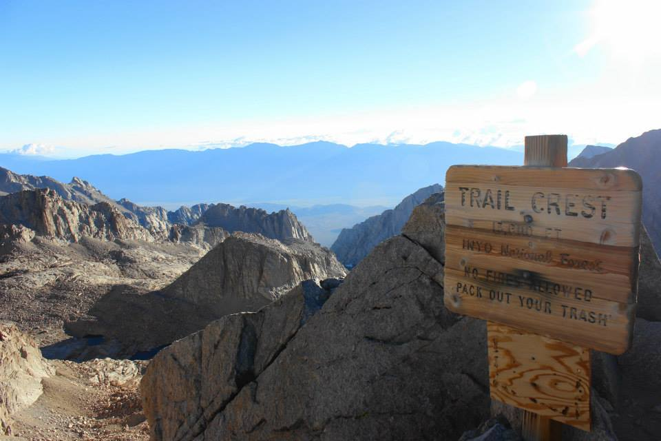 Climbing Mount Whitney | He and She Eat Clean