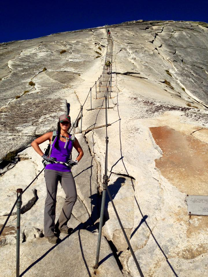 Hiking Half Dome in Yosemite National Park | He and She Eat Clean
